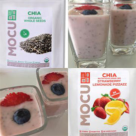 Strawberry Lemonade Chia Seed Cashewgurt