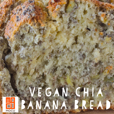 Vegan Chia Banana Bread