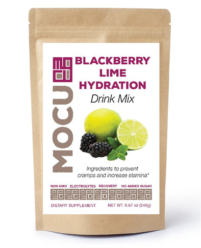 Blackberry Lime Electrolyte Drink Mix