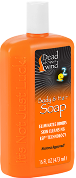 Dead Down Wind Body & Hair Soap 16oz