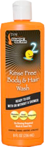 Dead Down Wind Rinse Free Body & Hair Wash 8oz