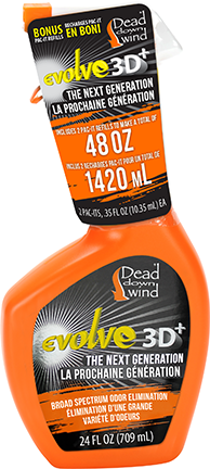 Dead Down Wind Evolve 3D Pac-It Combo 48oz
