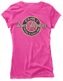 Duck Dynasty Ladies Short Sleeve Fitted T-Shirt