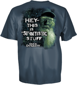 Duck Dynasty Youth Si-Intistic Short Sleeve T-Shirt
