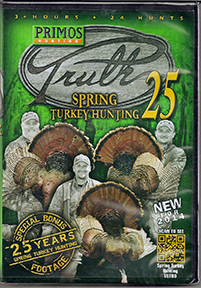 Primos Truth Spring Turkey DVD's
