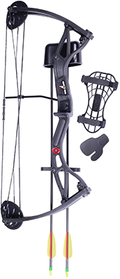 "Crosman Wildhorn Compound Bow 29# 17""-26"""