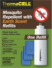 Thermacell Repellents Earth Scent Refill