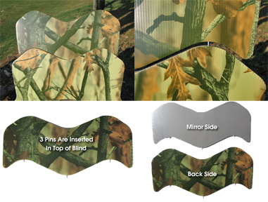 GhostBlind Mirror Extension Panels