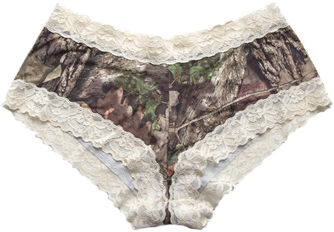 Wilderness Dreams Lace Trimmed Boy Short
