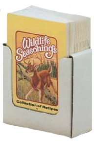 Wildlife Seasonings Recipe Collection Book