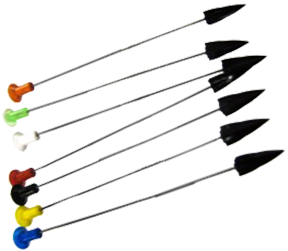 "Hot Shot 4"" Plastic Broadhead Darts"
