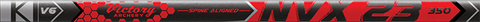 Victory NVX23 .314 Sport Target Raw Shafts - 12 Pack
