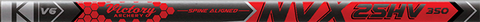 Victory NVX 25HV .345 Sport Target Raw Shafts - 12 Pack