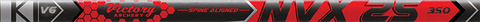 Victory NVX25 .345 Sport Target Raw Shafts - 12 Pack