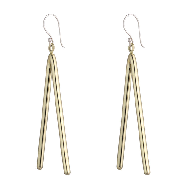 Acordian Earrings