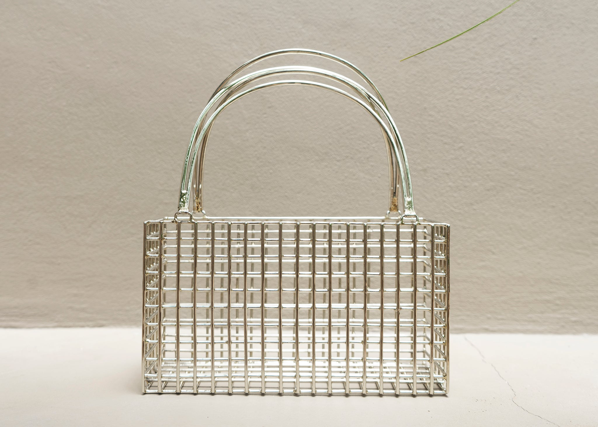 Rectangle Cage Purse