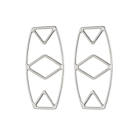 Diamond Eye Earrings