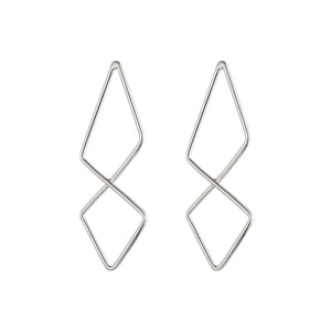 Geo Tie Earrings