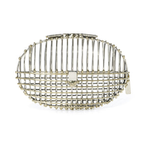Oval Cage Clutch