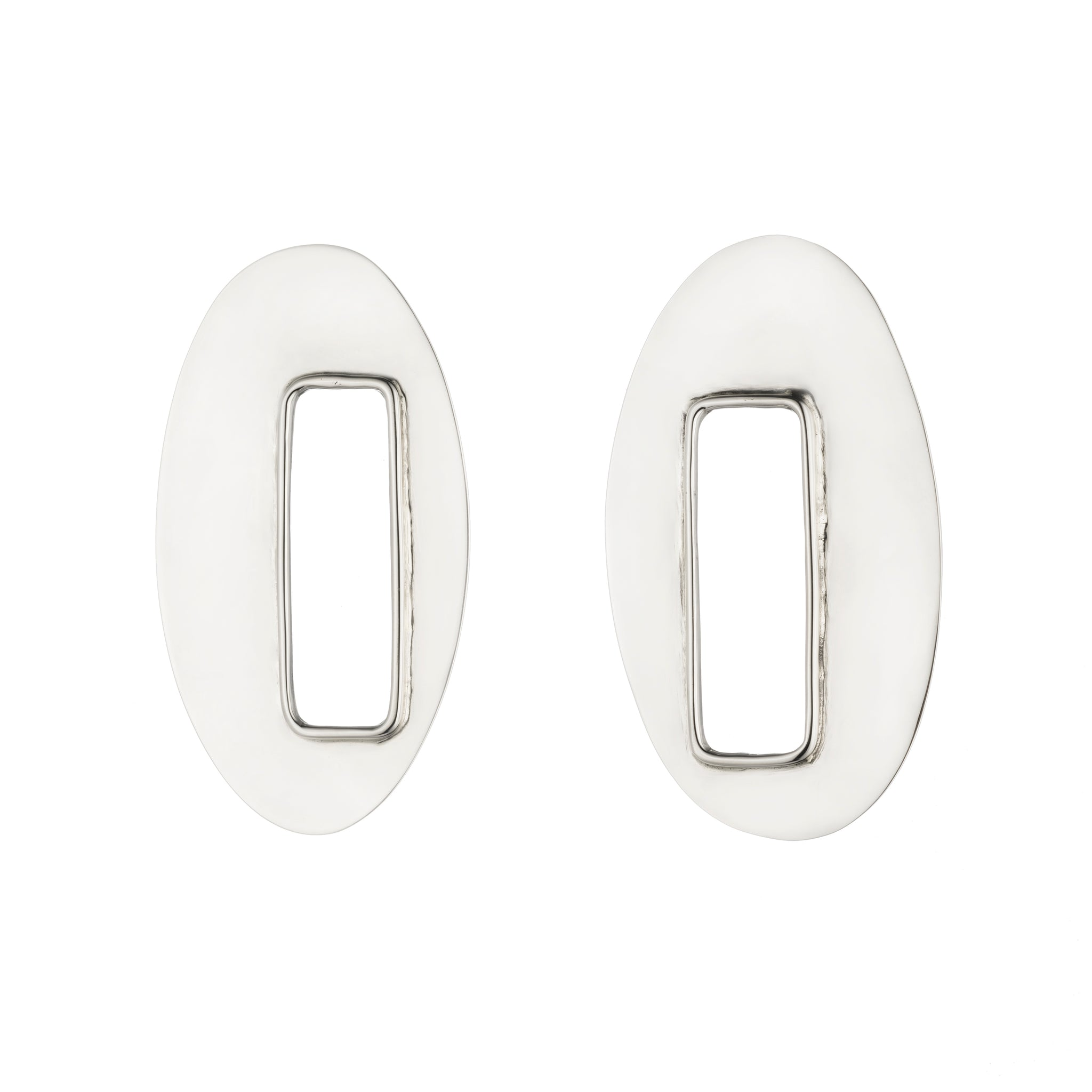 Oval Marx Earrings