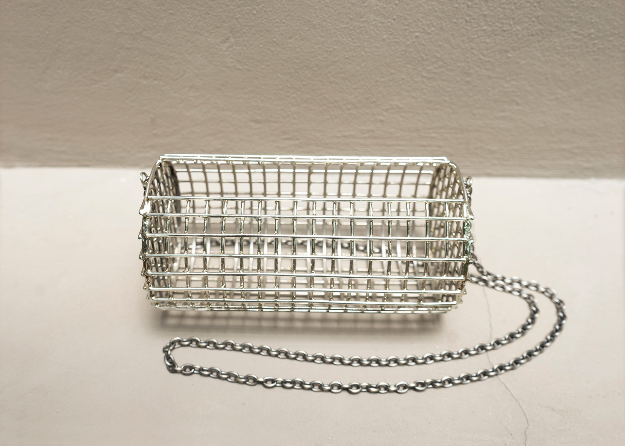 Pillbox Cage Bag