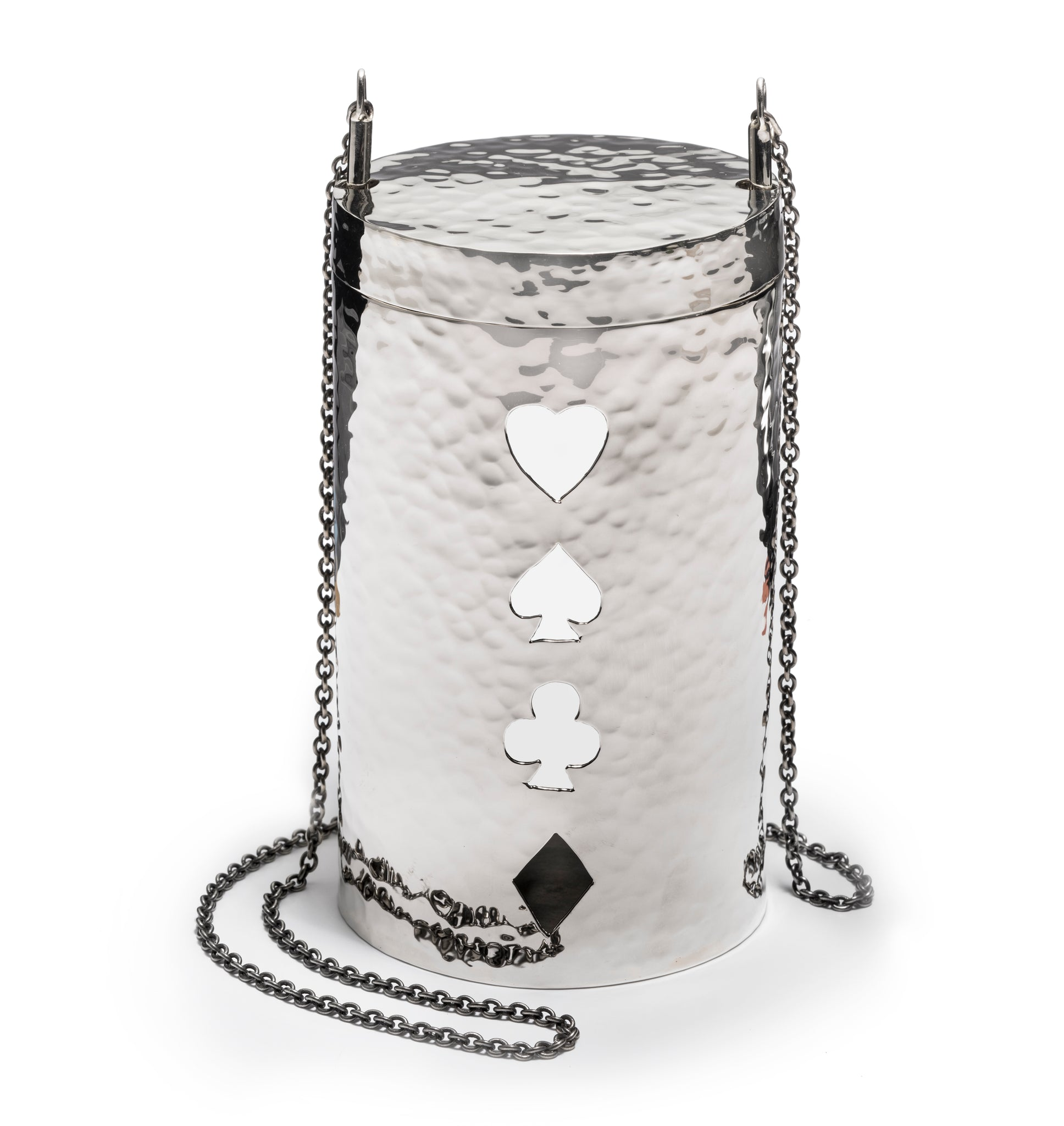 Playing Cards Cylinder Bag