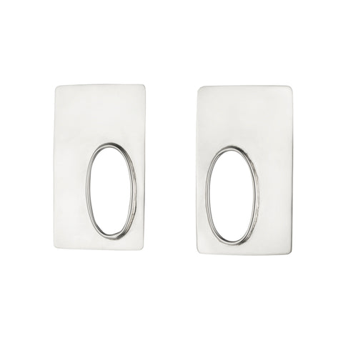Rectangle Marx Earrings