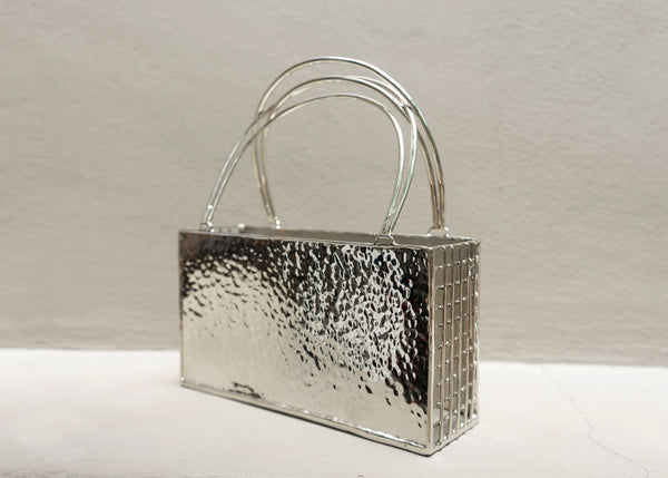 Rectangle Hammered Purse