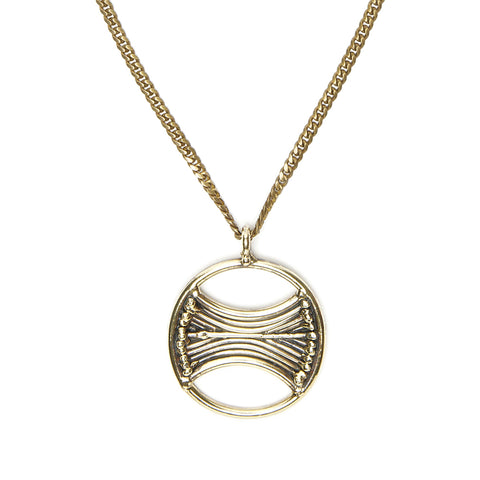 Venus Pendant with Stripes