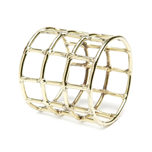 Brass Cage Bangle
