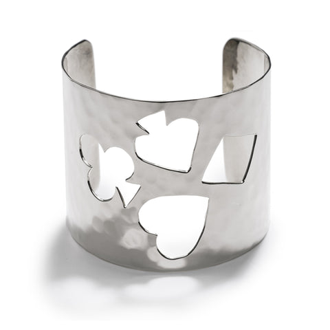 Card Hammered Cuff