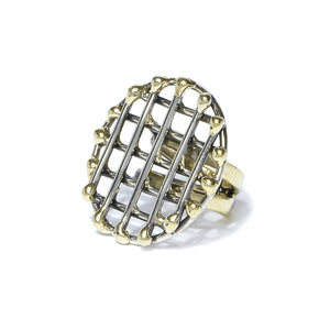Round Cage Ring