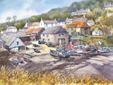 Cadgwith. Signed print 8 x 6 inches