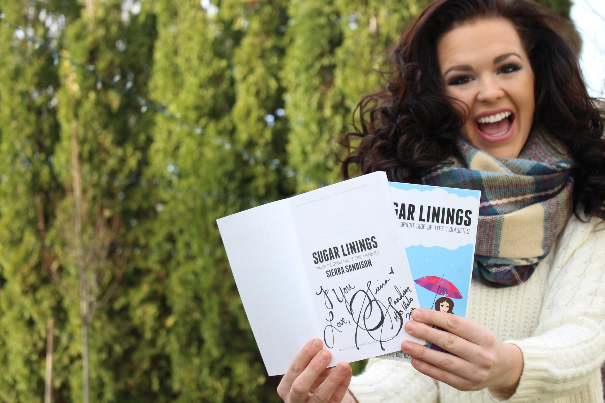 "Autographed/Personalized Copy of ""Sugar Linings"" Book"