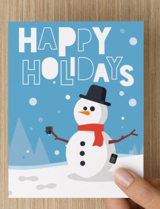 'Sweet Holiday Season' Greeting Card