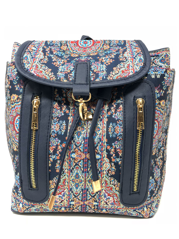 Istanbul Canvas Fashion Backpacks Purse Casual Outdoor Shopping Daypacks Travel Multipurpose Bag
