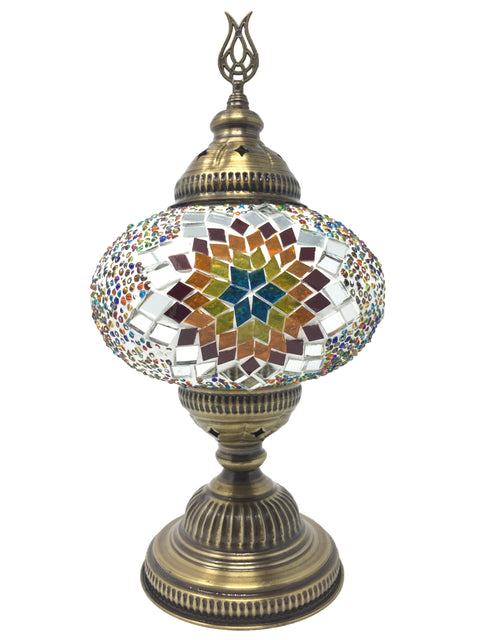 Mosaic Turkish Lamp Dragon Large