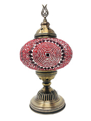 Mosaic Turkish Lamp Red Large