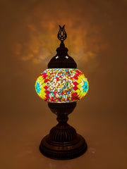 Mosaic Turkish Lamp Dragon Medium