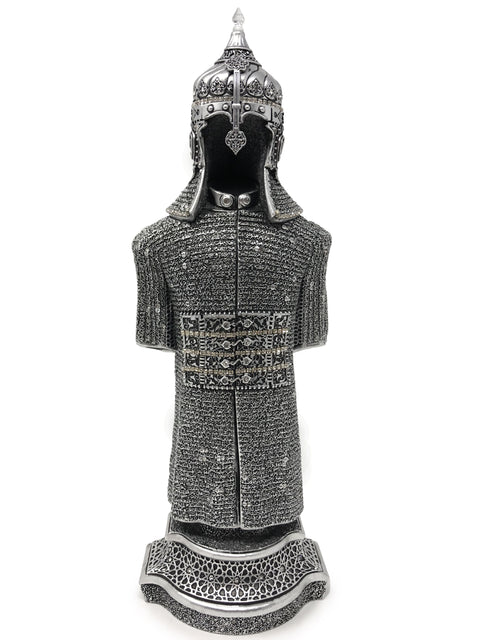 Ottoman Suit of Armor Big (Silver)