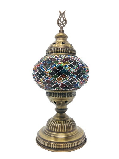 Mosaic Turkish Lamp four seasons Medium