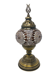 Mosaic Turkish Lamp Royal Gold Medium