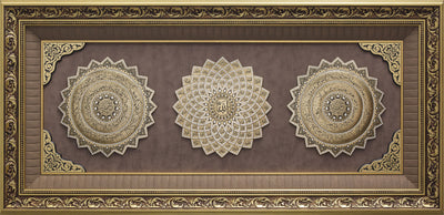 LARGE 4 Feet Wall Frame Gold