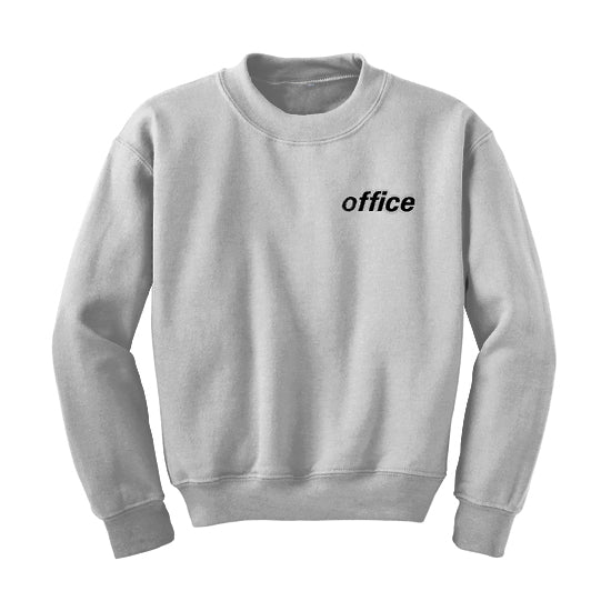 fd7d0b73b White Crewneck. $65.00. Grey Crew Neck Sweatshirt