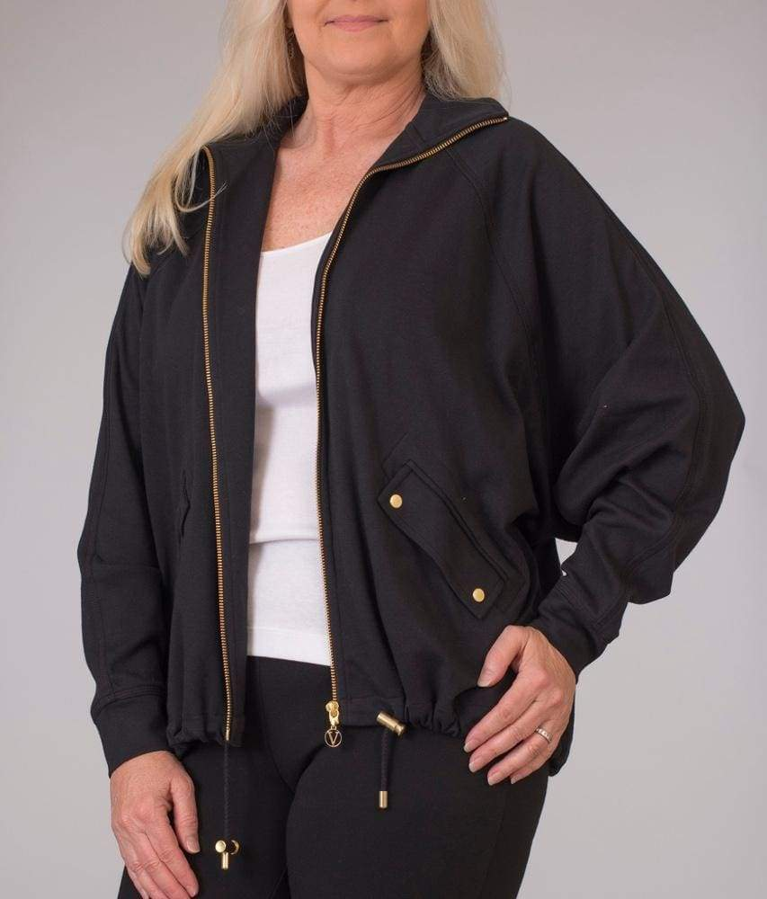 Black Batwing Jacket - Black - Jacket