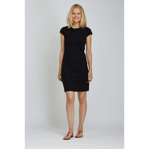 Black Casual Dress - Black - Dress
