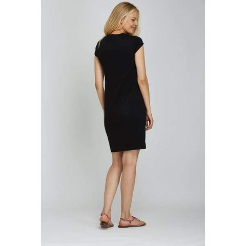 Black Casual Dress - Dress