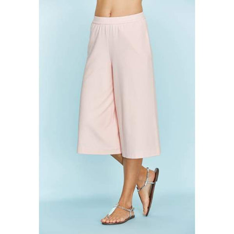 Cropped Wide Leg Pant - Blossom - Pants Bottom