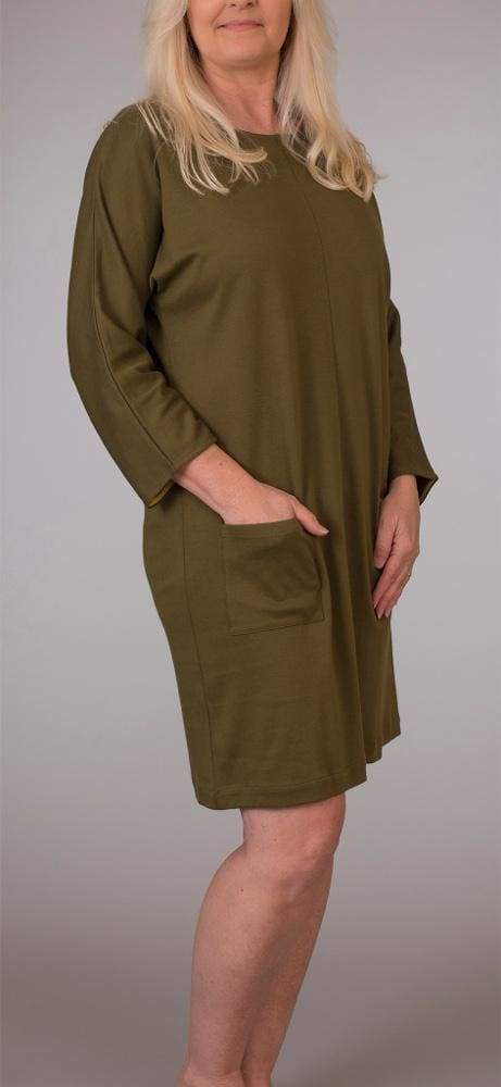 Dolman Button Dress - Ioden - Dress