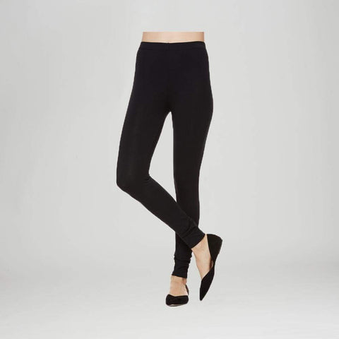 Full Length Black Legging - 1X / Black - Pants Bottom